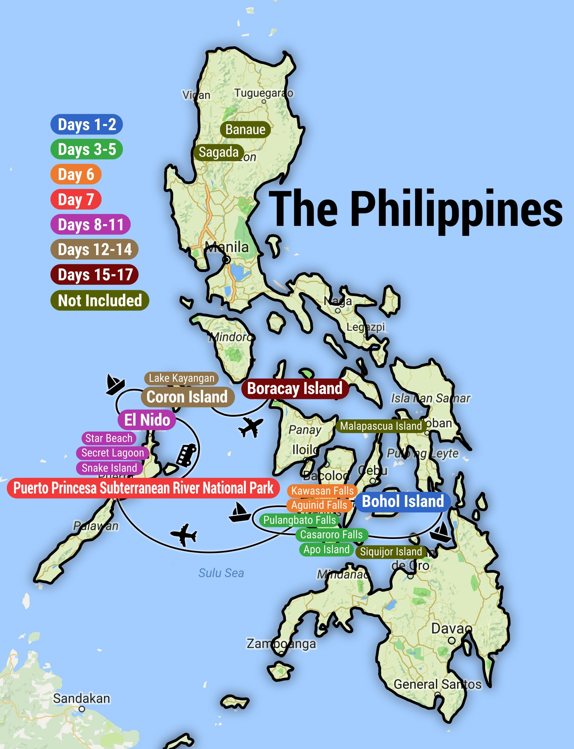 Philippines: See & Experience it ALL in 14 Days, 1st Class Traveling