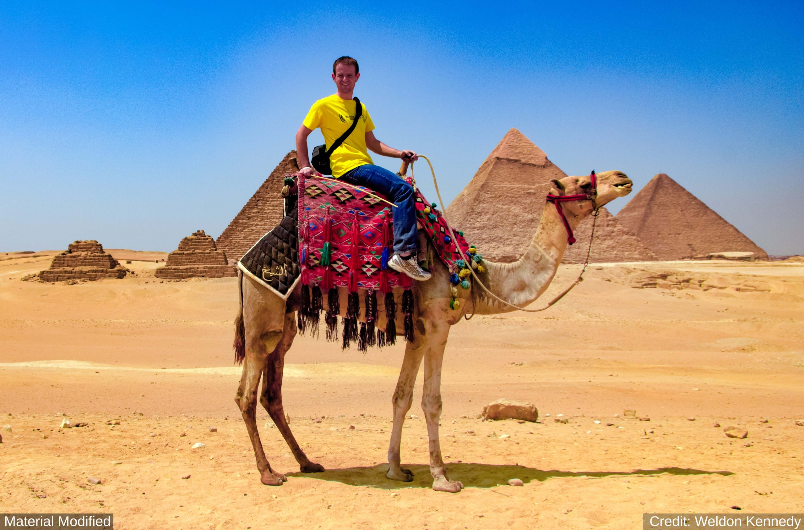 Egypt: See & Experience the Ancient Sites in 9 Days, 1st Class Traveling